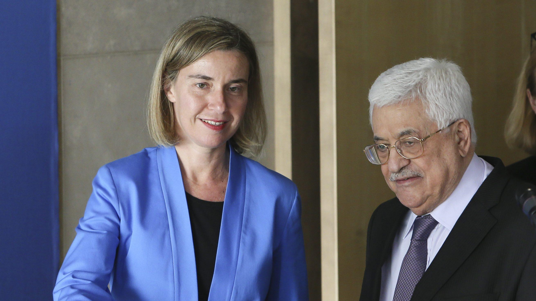 Abu Mazen sarà lunedì a Bruxelles