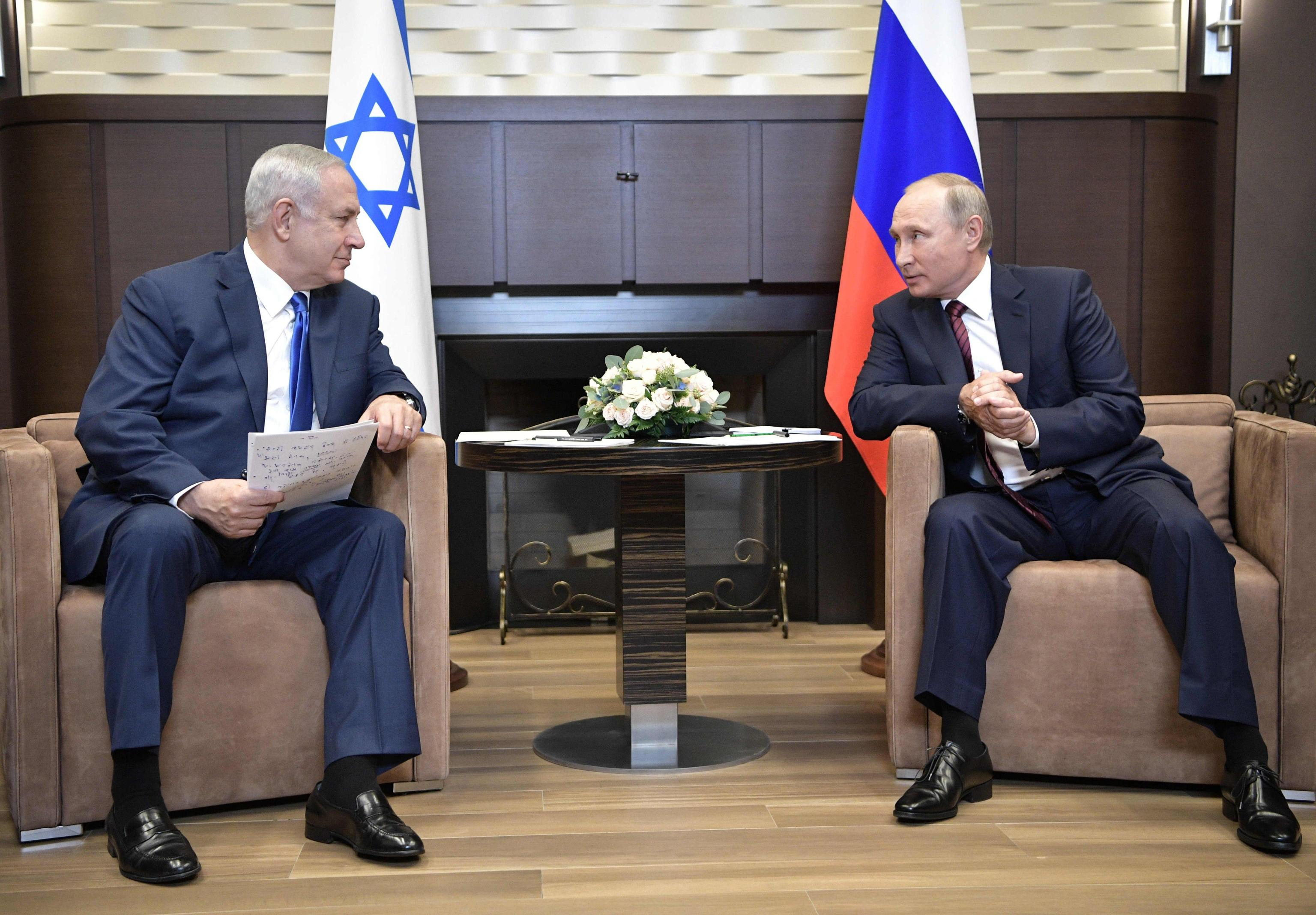 Mo: telefonata Putin-Netanyahu