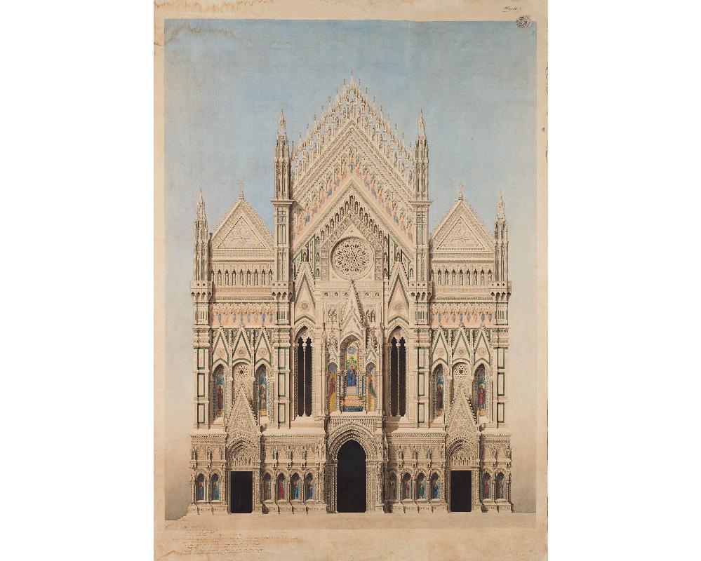 Opera Duomo, acquistato asta disegno