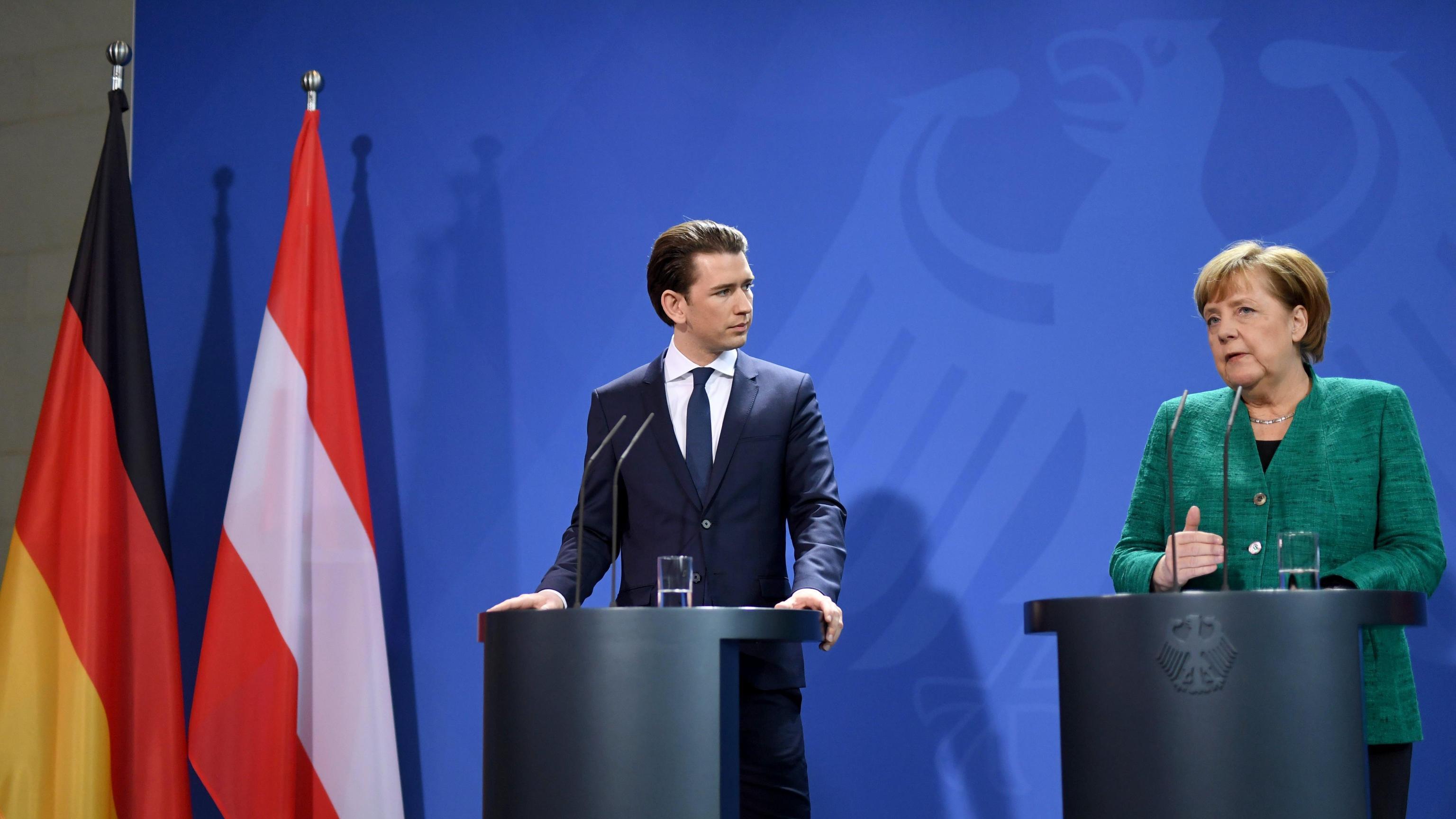 Merkel, misureremo l'Austria dai fatti