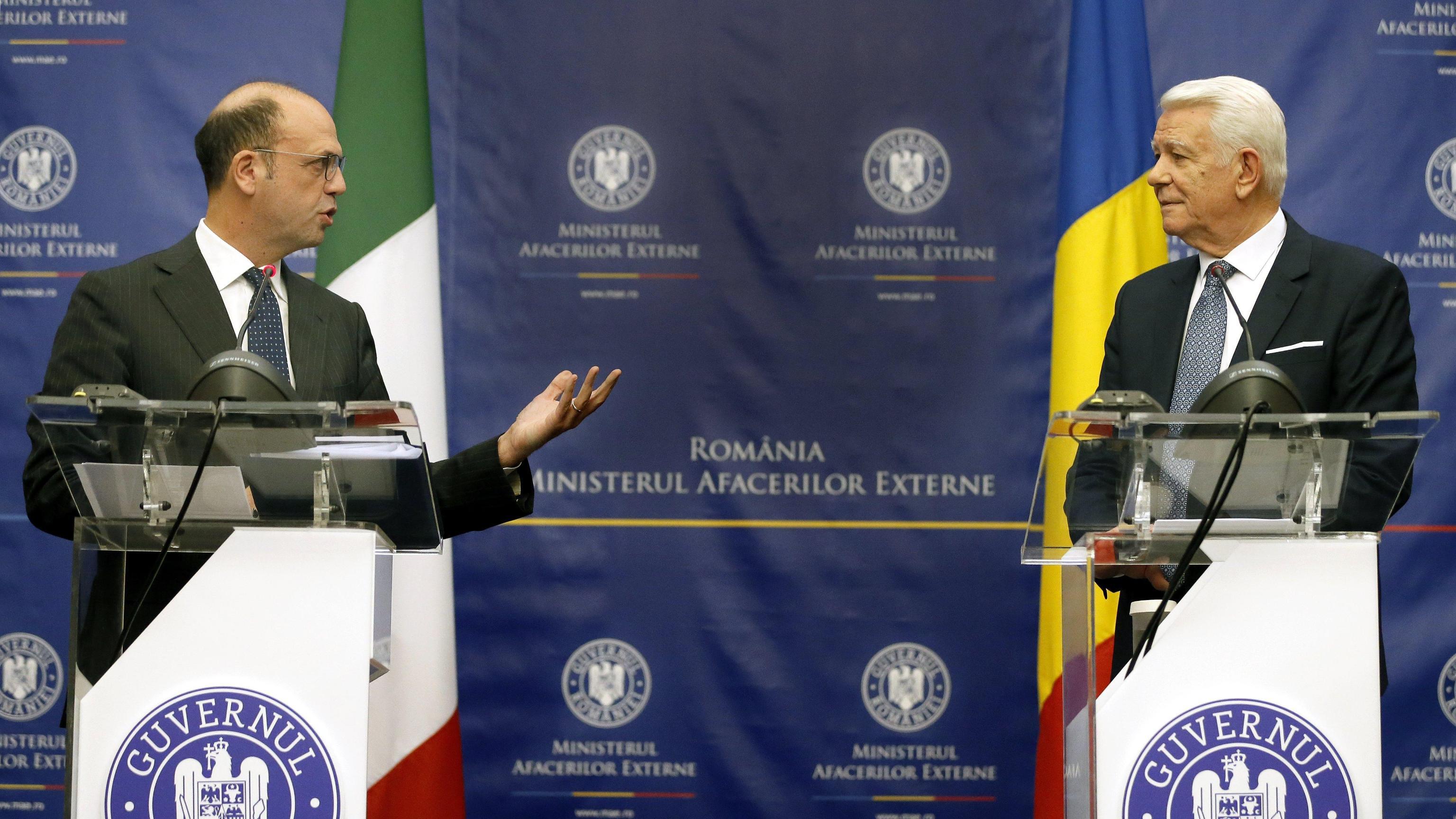 Alfano in Romania,rafforzare rapporti Ue