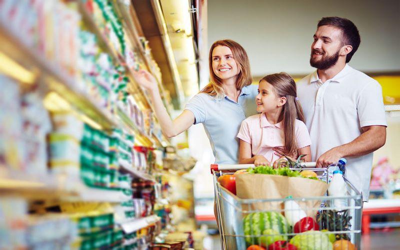 spesa settimanale per quattro persone: ecco cosa comprare