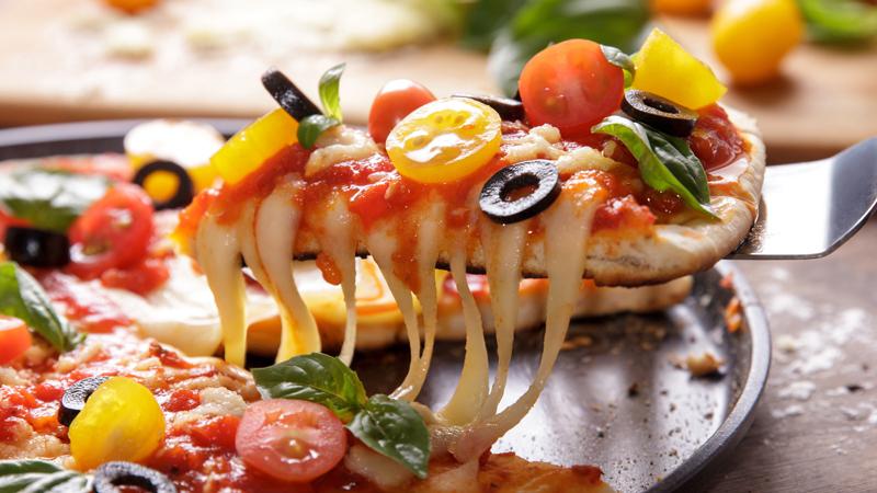 pizza a dieta si può