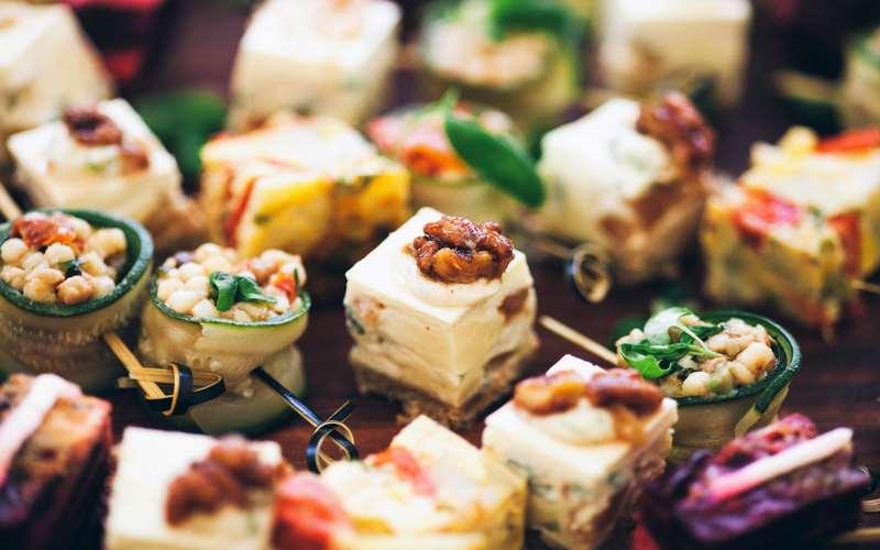 idee per il buffet di laurea
