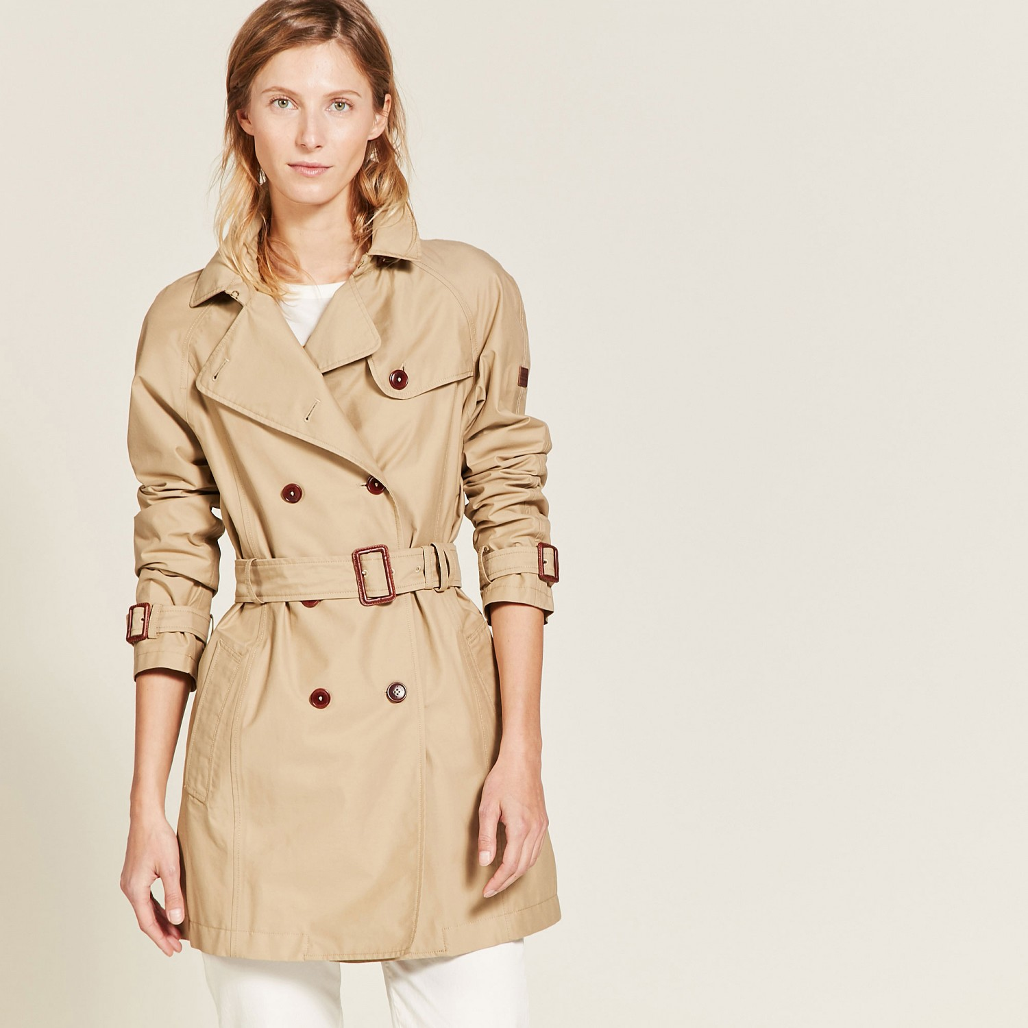 trench donna impermeabile