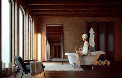 Vasca Bagno Freestanding : Vasche da bagno free standing: una scelta moderna ma dal gusto retrò