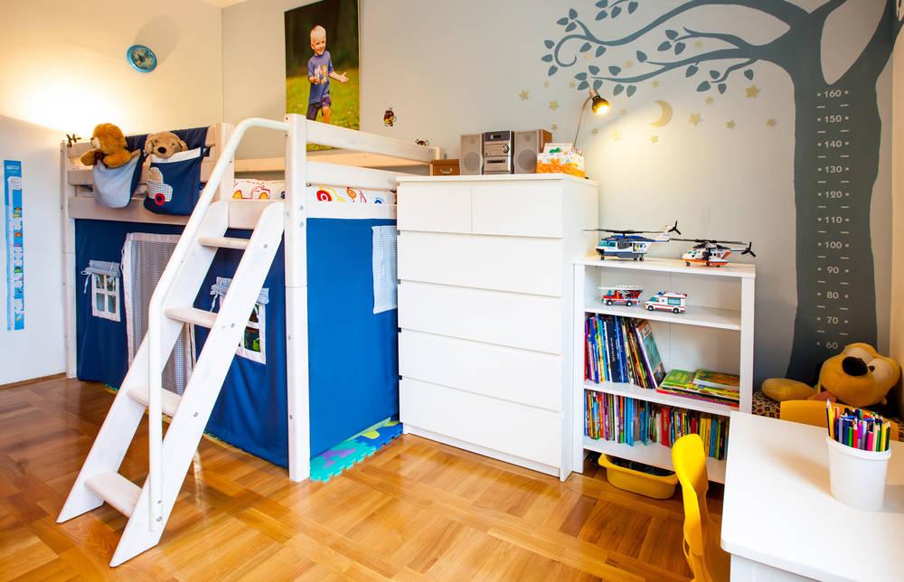 Camera Dei Bambini Usati : Legno naturale tante idee per arredare la cameretta dei bambini