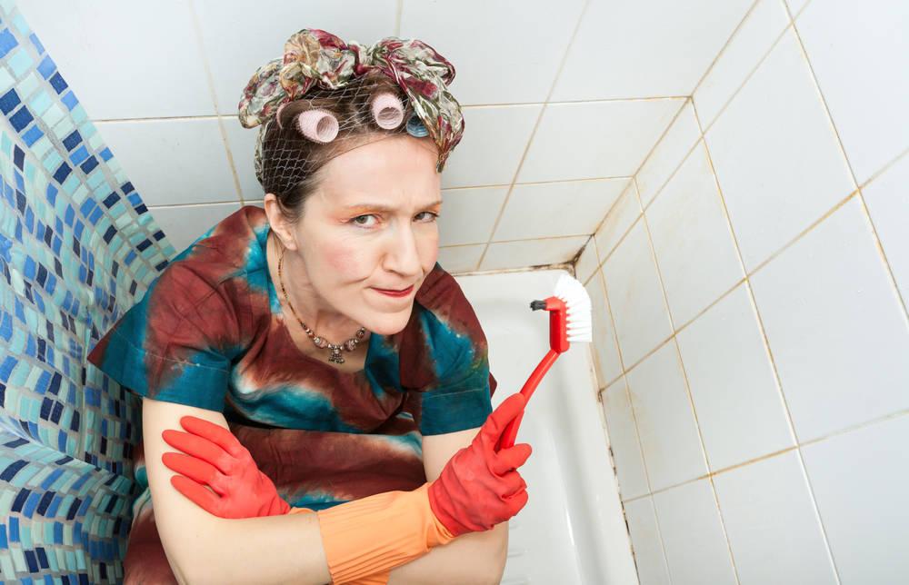 Come eliminare la muffa dal bagno trucchi per doccia tende fughe