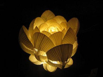 Lampadario Carta Di Riso : Lampade di carta: arredare con le luci in stile giapponese