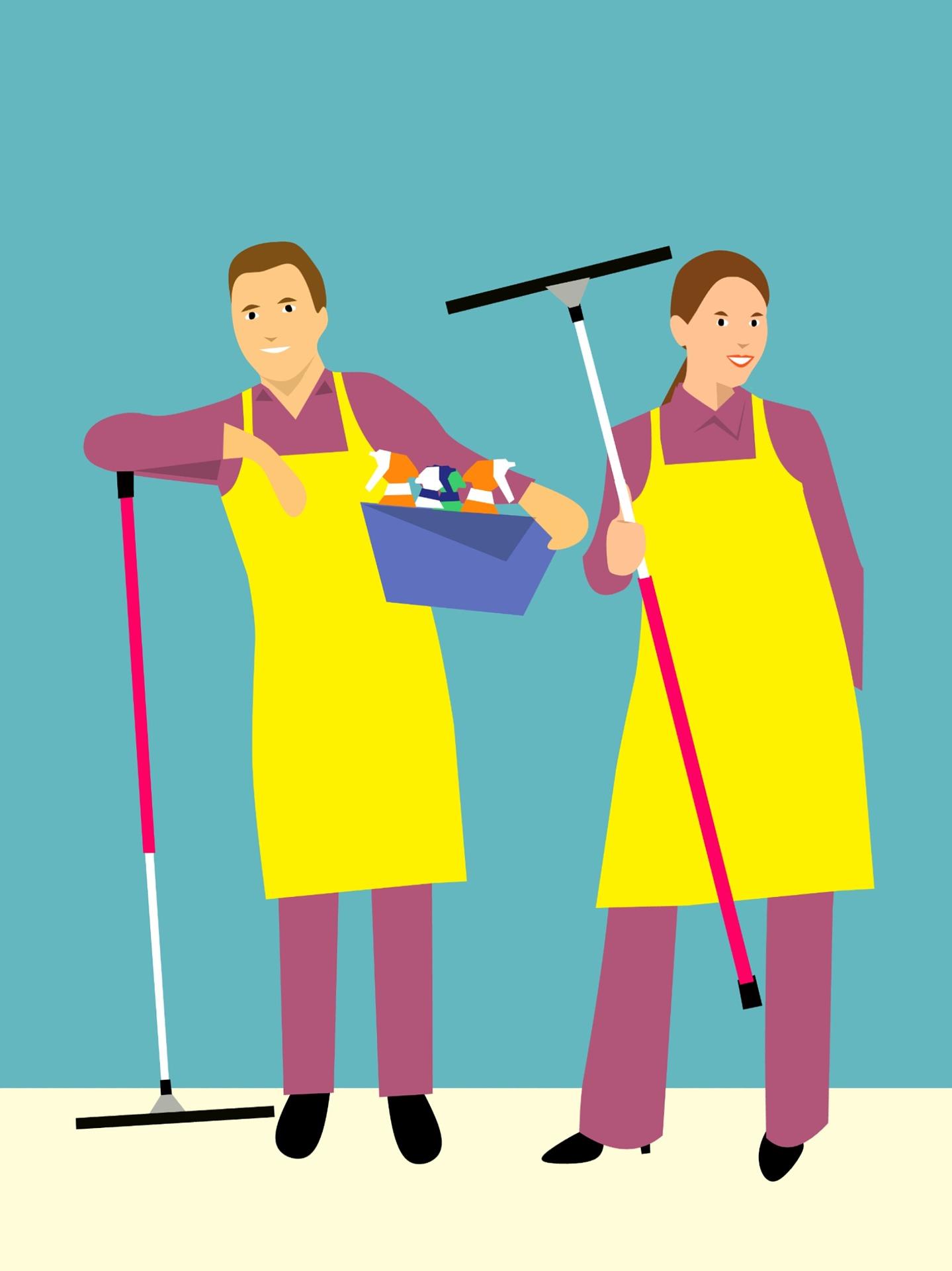 Come organizzare le pulizie di casa al meglio - Organizzare le pulizie di casa quando si lavora ...