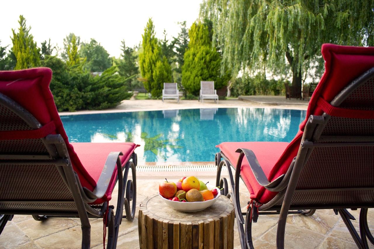 La piscina in giardino picture of lido palace riva del garda