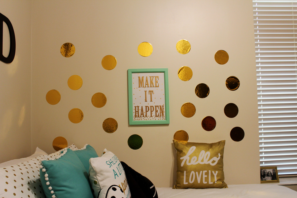 Pareti a pois: tante idee per decorare le pareti di casa