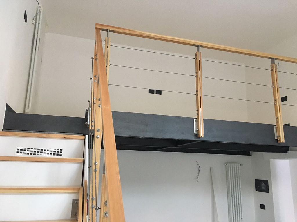 Soppalco autoportante: una soluzione di design senza opere edilizie