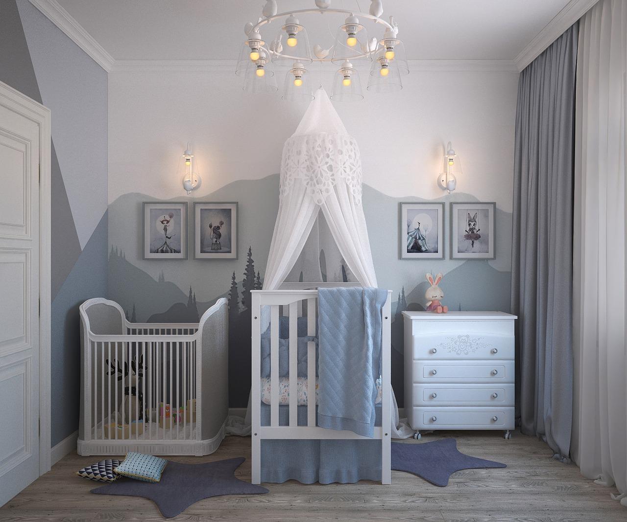 Colori Cameretta Bebè : Come arredare la cameretta per il neonato