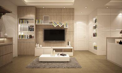 Come realizzare e arredare una nicchia in cartongesso in soggiorno?