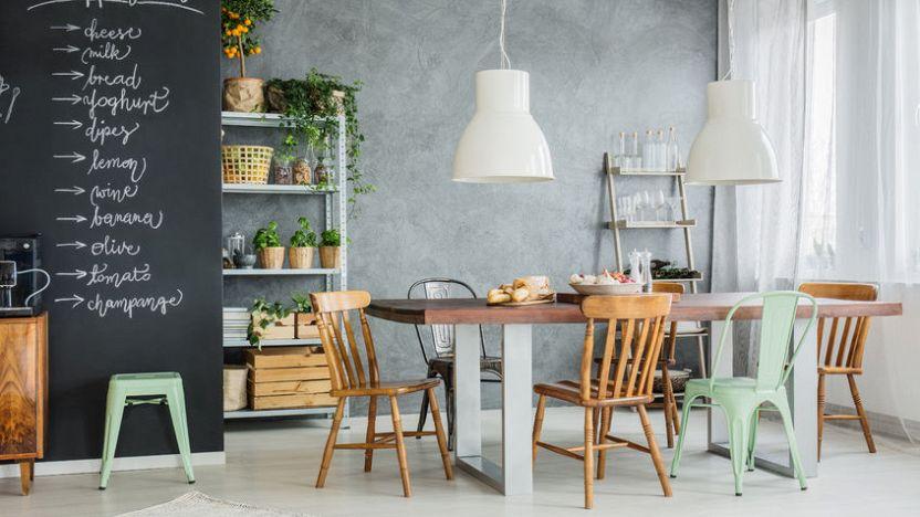 Una casa industrial chic: lo stile di arredamento del 2018