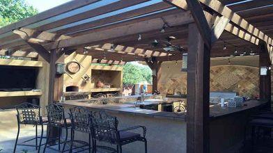 Progettare un angolo cottura in una veranda chiusa