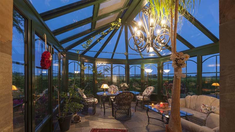 Giardino Dinverno Permessi : Giardino d inverno idee per arredarlo