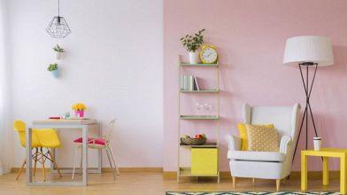 Pareti Bianche E Oro : Parete rosa antico: 5 abbinamenti da copiare