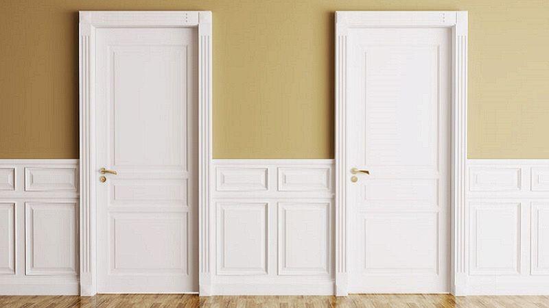 Porte avorio come abbinarle al colore delle pareti - Porte color avorio ...