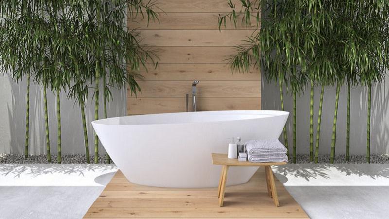 Vasca Da Bagno Stile Francese : Arreda il tuo bagno in stile zen