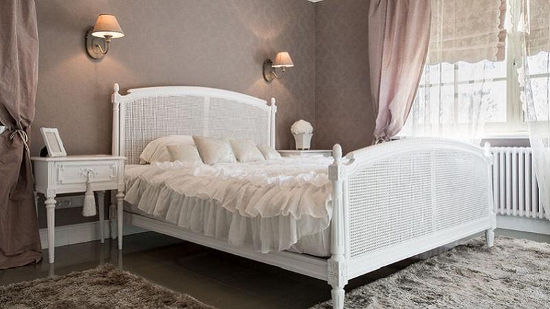 Porta lo stile shabby in camera da letto - Camera da letto in stile shabby ...