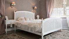Porta lo stile shabby in camera da letto