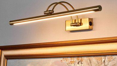 Plafoniere Grandi Dimensioni : Illuminare un dipinto o una foto con le lampade per quadri