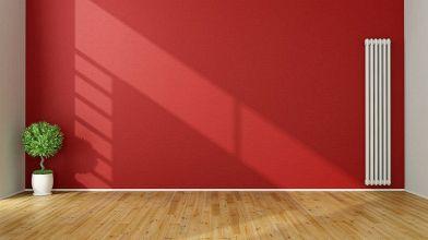 Parete rossa in casa: cosa fare per non sbagliare