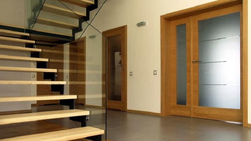 Bagno In Camera Con Vetro : Porte in legno con vetro modelli e caratteristiche