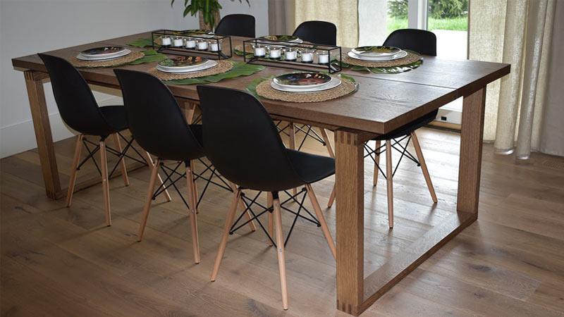 Tavoli Da Giardino Risparmio Casa : Tavoli in legno per la cucina quale legno scegliere