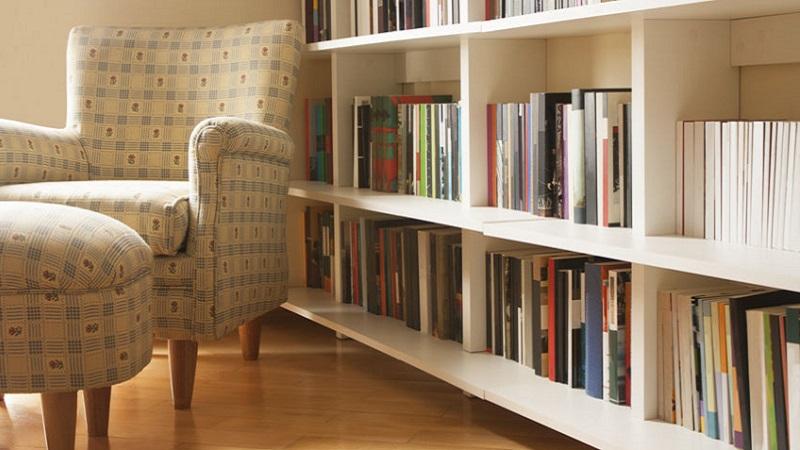 Libreria Girevole Un Idea Dinamica Per Dividere La Stanza