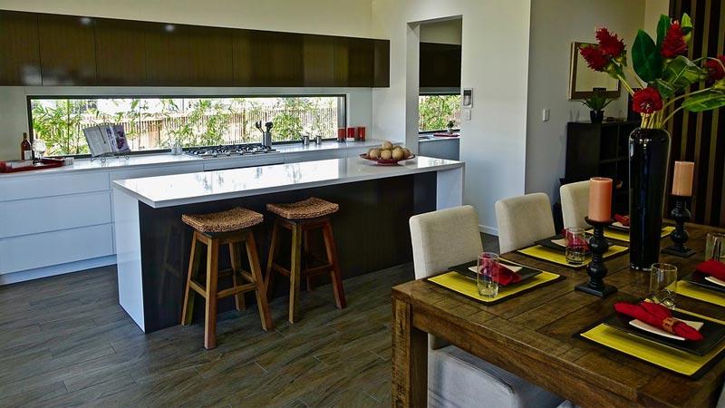 Cucina e soggiorno in mq come progettare l open space