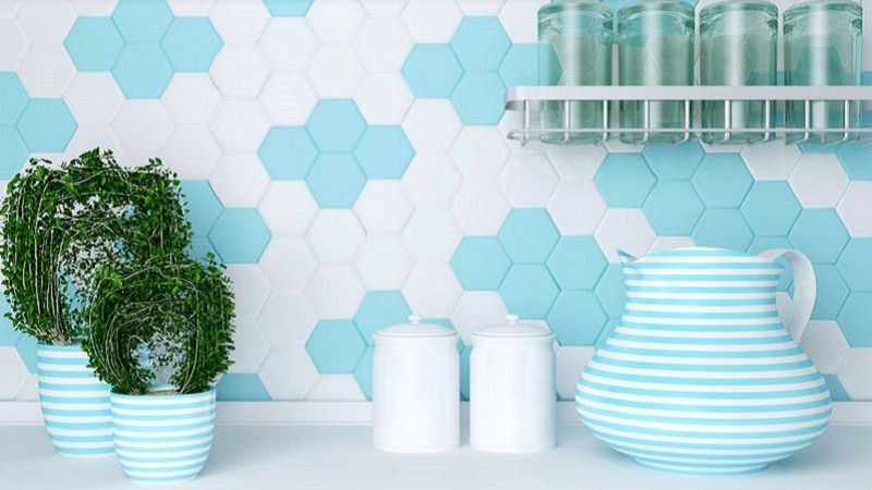 Piastrelle adesive: una soluzione comoda per cucina e bagno