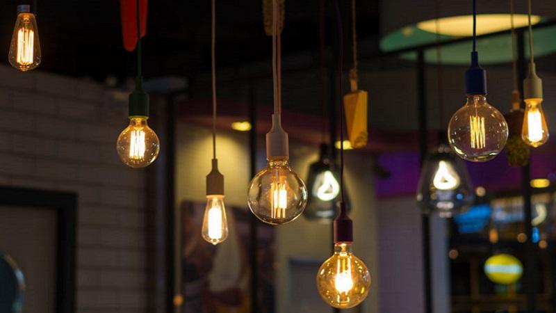 Lampadari con lampadine a vista catalogo lampadari ikea glow