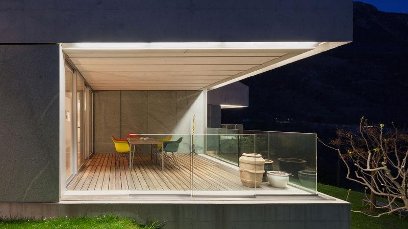 illuminazione balcone piccolo
