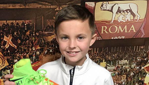 Il nuovo Totti della Roma viene dall'America e ha 9 anni