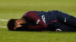 Tegola per il PSG: Neymar fuori due mesi