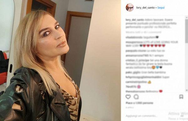 Lory Del Santo: 'Ho passato una notte di passione con Mancini'