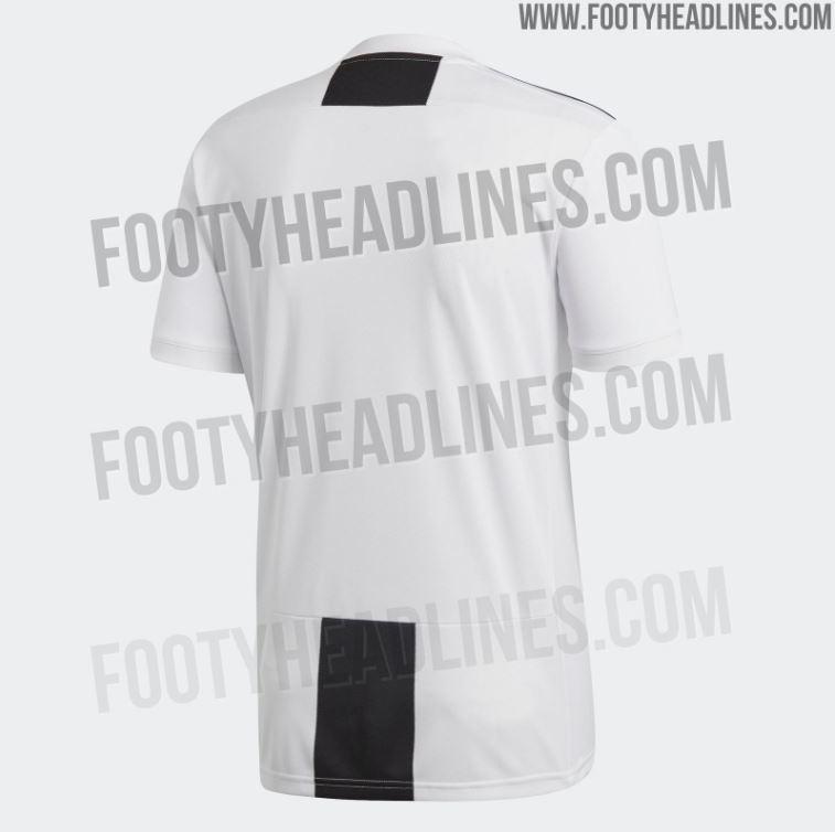 acb8bb004 Striscia nera sul retro - Juventus 2018-2019, ecco le nuove maglie ...