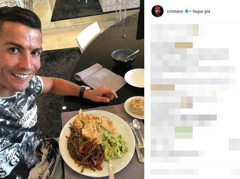 Da Cristiano Ronaldo a Messi, qual è la dieta dei calciatori?