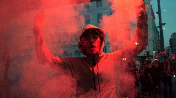 Scontri ultra Marsiglia-polizia a Lione