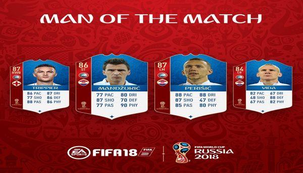 FIFA18 Ultimate Team: altri 4 nuovi MOTM per la World Cup