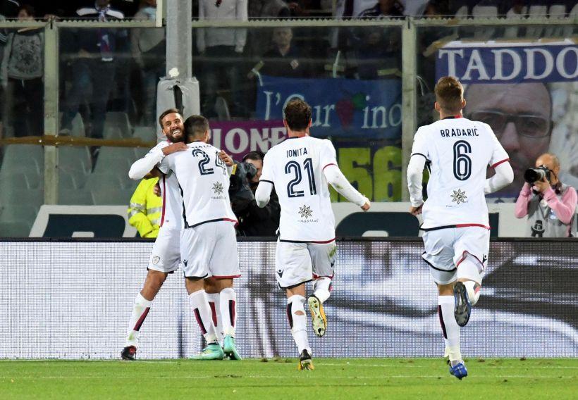 Serie A: Fiorentina-Cagliari 1-1