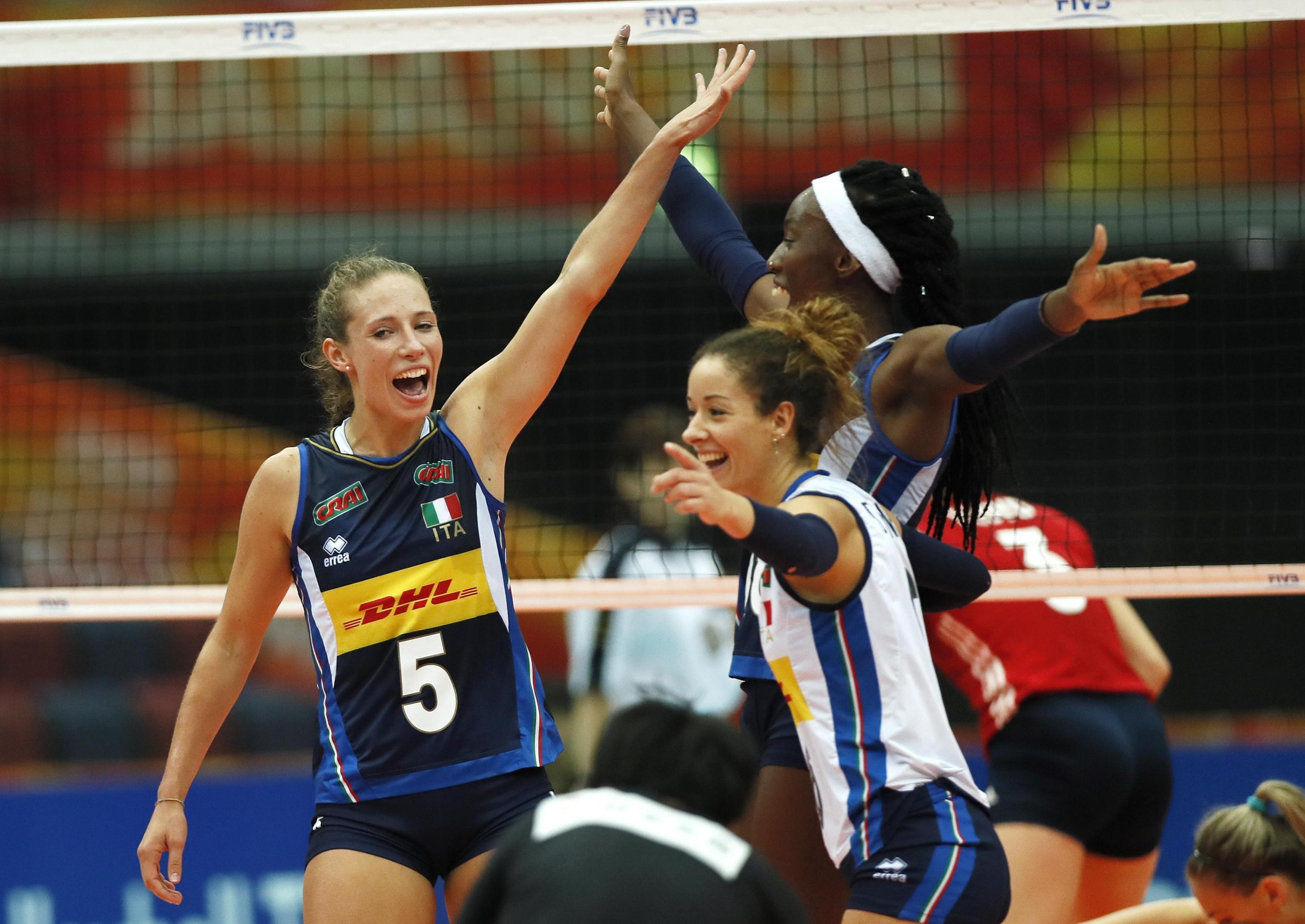Calendario Mondiali Pallavolo Femminile.Volley Donne Mondiali 2018 Dove Vedere La Semifinale Italia