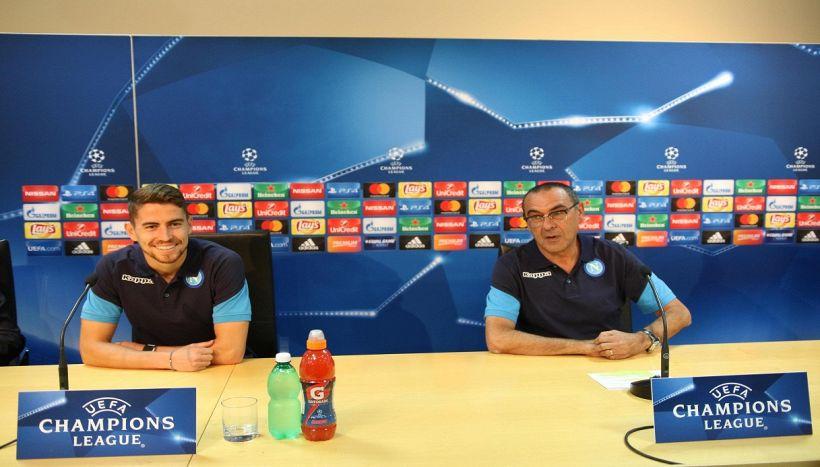 Jorginho svela le scaramanzie di Sarri, tifosi divisi