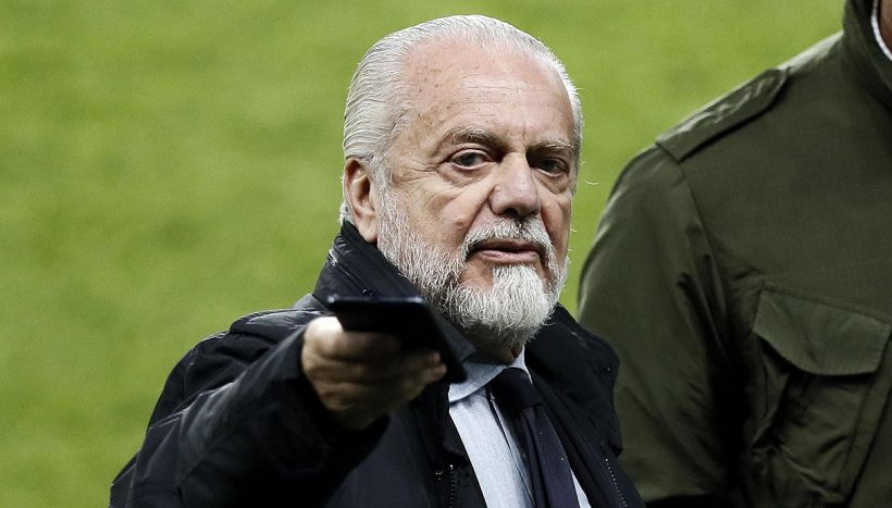 De Laurentiis: Il Napoli in Ligue1 vincerebbe il campionato