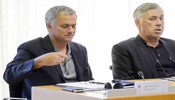 Ancelotti difende Mourinho: Ecco perché ha fatto bene