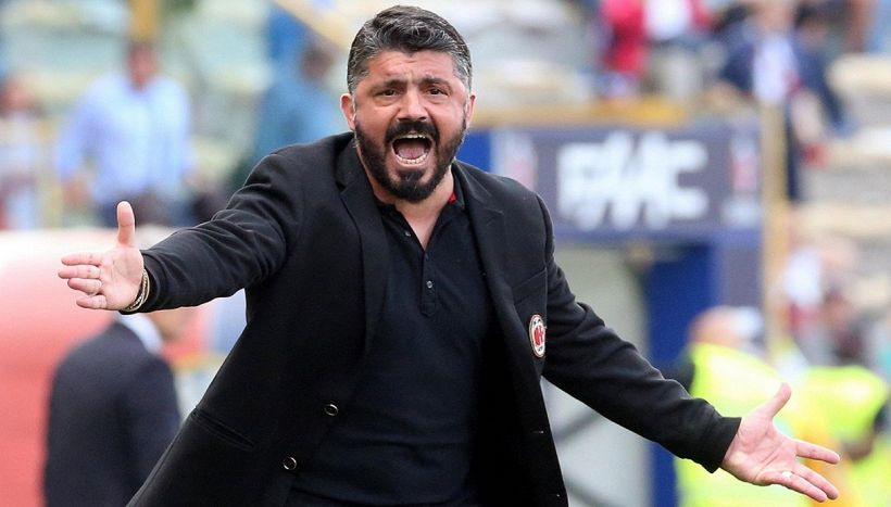 Milan, l'esonero di Gattuso sui social