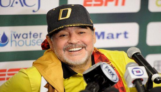 Maradona cacciato di casa dalla fidanzata